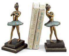 Spi Home Ballerina Bookends