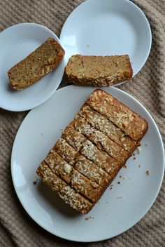 crackly banana bread by smitten. Whole wheat flour, coconut oil, no ...