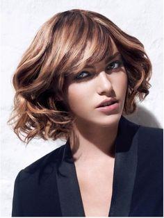 curly short bob hairstyle modish #prom hairdos for short hair