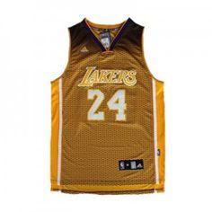 yhoisp Mens Los Angeles Lakers Kobe Bryant Number 24 Flag Jersey Black