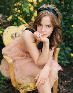 Emma Watson so beautiful and inspirational! and a wonderful role model for young girls everywhere!
