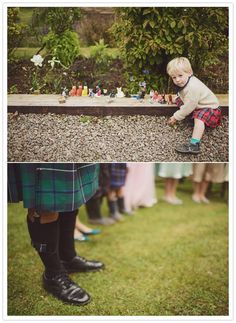 Traditional scottish wedding wear - how sweet is the wee boy in the kilt? Description from pinterest.com. I searched for this on bing.com/images