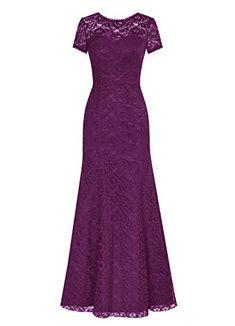 Dresstells® Long Lace Bridesmaid Dress Short Sleeved Evening Party Dress Grape Size 2 Dresstells http://www.amazon.com/dp/B01412828E/ref=cm_sw_r_pi_dp_MAPewb0GAS7QF