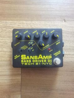 Tech21 Sansamp Bass Driver DI Pedal | 1.9jt