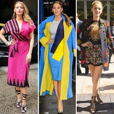 Blake Lively turns New York City into her own personal runway! | toofab.com