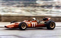 1969 GP Monaco (Chris Amon)Ferrari 312/69