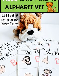 Alphabet Games, Letters For Kids, Letter Of The Week, Letter V, Letter Recognition, Super Mom, Teddy Bear, Teaching, Activities