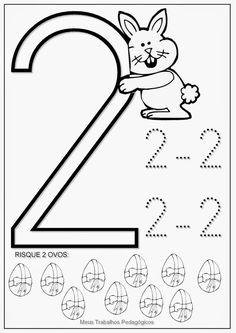 Meus Trabalhos Pedagógicos ®: Atividades Prontas -Ed.Infantil - Páscoa