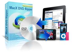 MacX DVD Ripper...for getting all those kids DVDs onto the iPad!