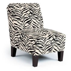 This animal print accent chair can bring life to a dull space. KEARA Accent By Best Home Furnishings