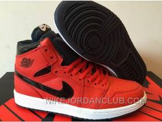 http://www.nikejordanclub.com/2016-air-jordan-1-high-red-black-shoes-for-sale-hb5dh.html 2016 AIR JORDAN 1 HIGH RED BLACK SHOES FOR SALE HB5DH Only $91.00 , Free Shipping!