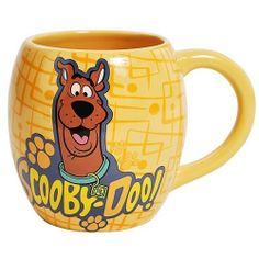 Westland Giftware Scooby-Doo Mug, 14-Ounce by Westberry Wellness Programs. $11.64. Made of ceramic material. Bright and cheery. Exceptional quality. Perfect for any kitchen. Wonderful Gift. This fun, brightly colored 14-ounce mug features your favorite character from Scooby Doo. Westland Giftware is known for quality and design.
