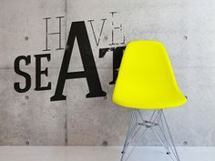 Have A Seat design by Peter Hammarstrand