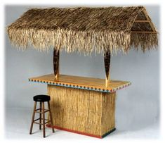 Create your very own indoor or outdoor tropical paradise with our Tiki Home Bar Plans Deck Bar, Patio Bar, Outdoor Bar Table, Outdoor Decor, Outdoor Bars, Outdoor Retreat, Diy Außenbar, Key West Decor, Home Bar Plans