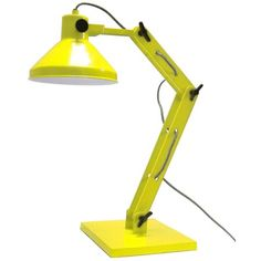 HK Living bureaulamp geel