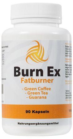 Burn Ex Fatburner Diät mit 90 KapselnGuarana,Grüner Tee und Grüne Kaffebohnen- Testberichte und Erfahrungen. Hier finden Sie den aktuellen Testbericht.