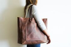 texturism:  [wish list] oh. for all the stuff. stanley + sons leather tote from spartan