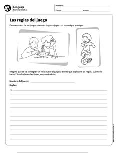 Visit the post for more. Spanish Classroom, Writing Prompts, Teacher, Education, Reading, School, Veronica, Montessori, Sports