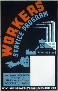 2669 Workers service program of Illinois POSTER. Decorative home design Art. Wpa Posters, Travel Posters, Crafts With Glass Jars, Crafts For 2 Year Olds, Works Progress Administration, Swing, Poster Size Prints, Art Prints, Propaganda Art