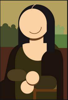 Mona Lisa, as interpreted by Miguel Cardil.