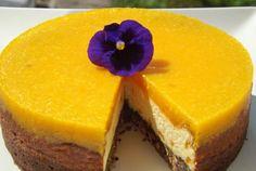 Retete Culinare - Cheesecake cu portocale