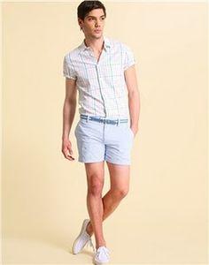 Men's Style / Men's Shorts / Already time to start leg workouts ...