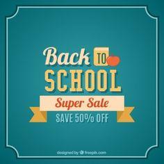 Back to school super sale lettering
