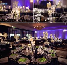 tablescapes: trees and candles