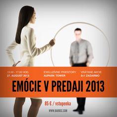 """Seminár """"Emócie v predaji"""" sa zameral na oblasť vplyvu emócií a emočnej inteligencie (EQ) na proces nákupného rozhodovania a možností zvýšenia predaja prostredníctvom orientácie na emócie potenciálneho zákazníka.  Semimáru sa zúčastnilo viac ako 40 prihlásených účastníkov."""