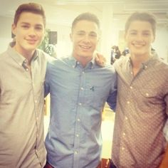 Colton Haynes, Jack Harries, AND Finn Harries. this is too much sexy in one photo Finn Harries, Colton Haynes Arrow, Colten Haynes, Gorgeous Men, Beautiful People, Beautiful Boys, Pretty People, Jack Finn, Carter Reynolds