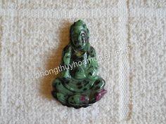 Quan Âm đá Ruby #Jewelry #Ruby #buddha - Mặt dây chuyền Quan Âm đá quý Thegioidaquy.net