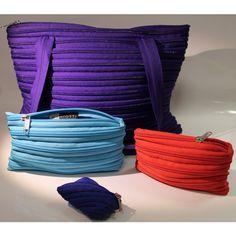 Set di borse con cerniera lampo - zip bag - Borse - Accessori - Abbigliamento