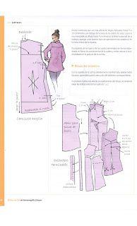 Costura,Patrones y mucho mas: Libro de Oro Hermenegildo Dress Sewing Patterns, Vintage Sewing Patterns, Clothing Patterns, Sewing Hacks, Sewing Tutorials, Top Pattern, Pattern Design, Pekinese, Pattern Drafting