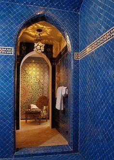 Mi Sueño mediterranean bathroom
