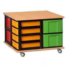 Modulus Spieltisch Und Ordnungsstifter W 43884 Spieltisch Tisch Raumteiler