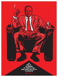 TV: The Sopranos by Christopher Cox | Alternative TV Posters via ShortList Magazine