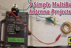 A selection of five simple and easy to build multiband HF wire antennas Hf Radio, Radio Band, Ham Radio Antenna, Sr1, All Band, Home Repair, Things To Know, Simple, Radios