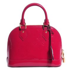 Louis Vuitton l Vernis Alma BB in Indian Rose