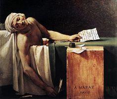 der Tod des markt jacques louis David
