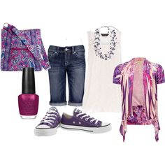"""""""purple with a purpose"""" by jeanie236 on Polyvore -- somebody must know me quite well, lol"""