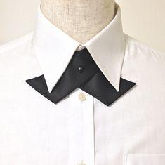 4.Basic Pin Fastening / 基本ピン留め Continental Cross-Over Tie ,クロスタイ,メンズ服飾文化,作り方,ピン