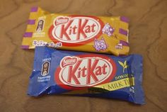 Milk Tea and Caramel Pudding Flavored Kit Kats from Japan