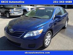2011 Toyota Camry $11854 http://www.CARSINMOBILE.NET/inventory/view/9742221