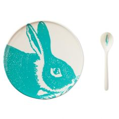 Thomas paul Aqua Bunny Dining Set