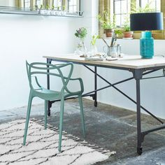 Iron And Mango Wood Table | Dining Tables | Graham & Green