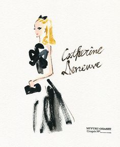 Catherine Deneuve Check out different angle on Instagram !