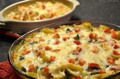 Ham, Spinach, and Pasta Casserole #bebetsy #food #recipe