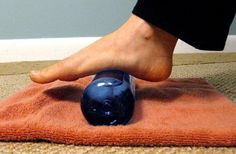 Make Your Feet Happy With an Icy Water Bottle