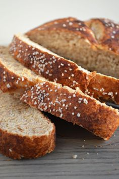 Make Pretzel Bread at home and your sandwiches will never be the same.  I'm obsessed.