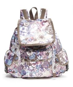 Look at this Amelia Pastel Voyager Backpack on #zulily today!
